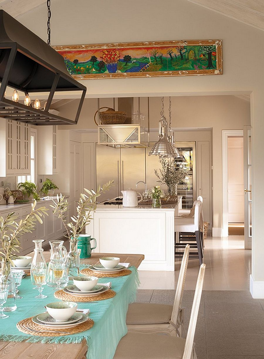 adelaparvu.com casa in stil mediteranean combinat cu stil nordic,casa Marbella, Spania, Foto El Mueble, design Cesar de Leyva (9)