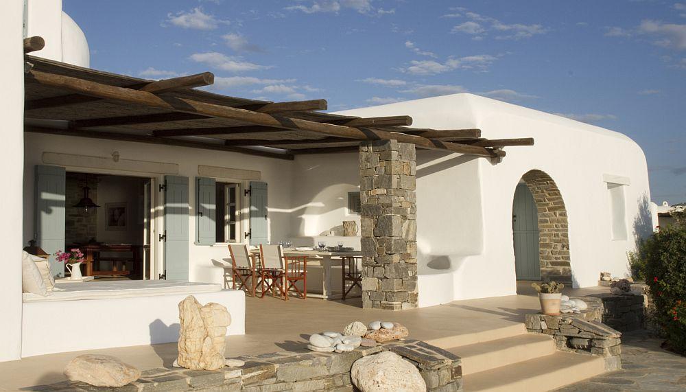 adelaparvu.com despre Bright blue villas, Grecia, Villa Amethyst, Paros  (2)