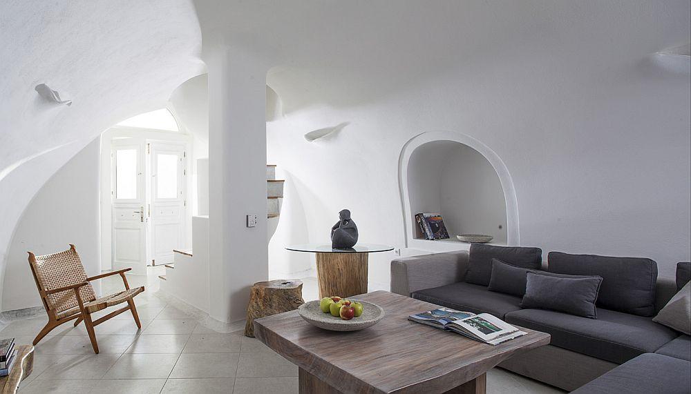 adelaparvu.com despre Bright blue villas, Grecia, Villa Anemone, Santorini (4)