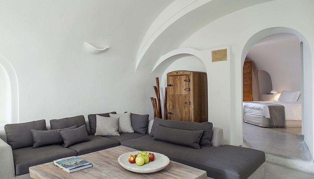 adelaparvu.com despre Bright blue villas, Grecia, Villa Anemone, Santorini (6)