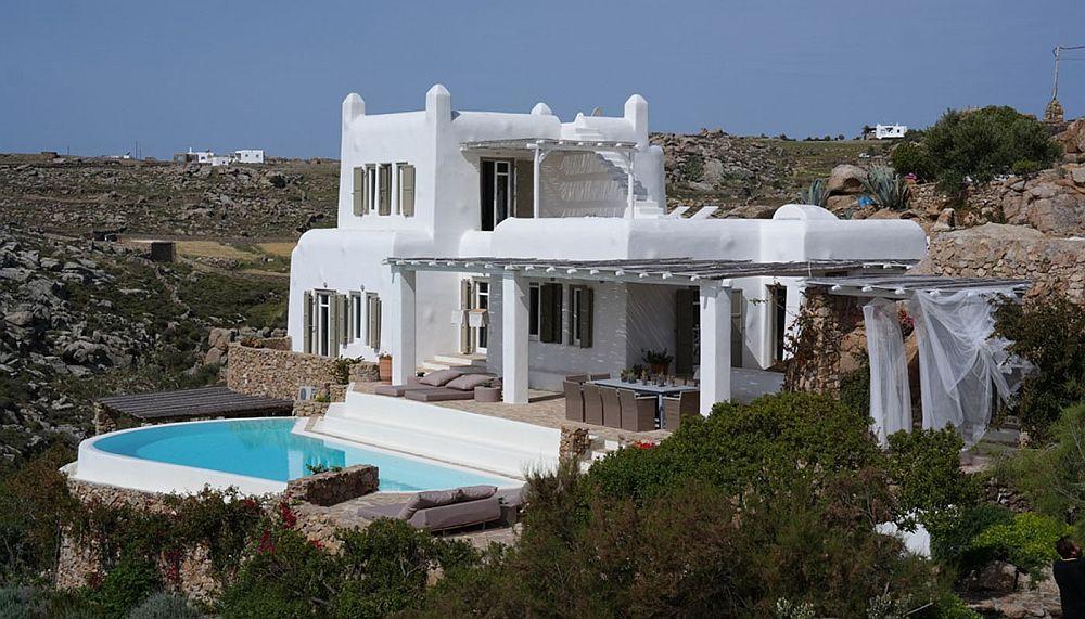 adelaparvu.com despre Bright blue villas, Grecia,Villa Dione, Mykonos (1)