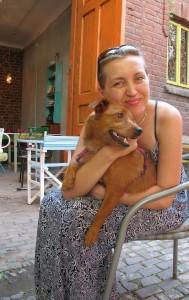 Prietena mea Oana impreuna cu Bruna
