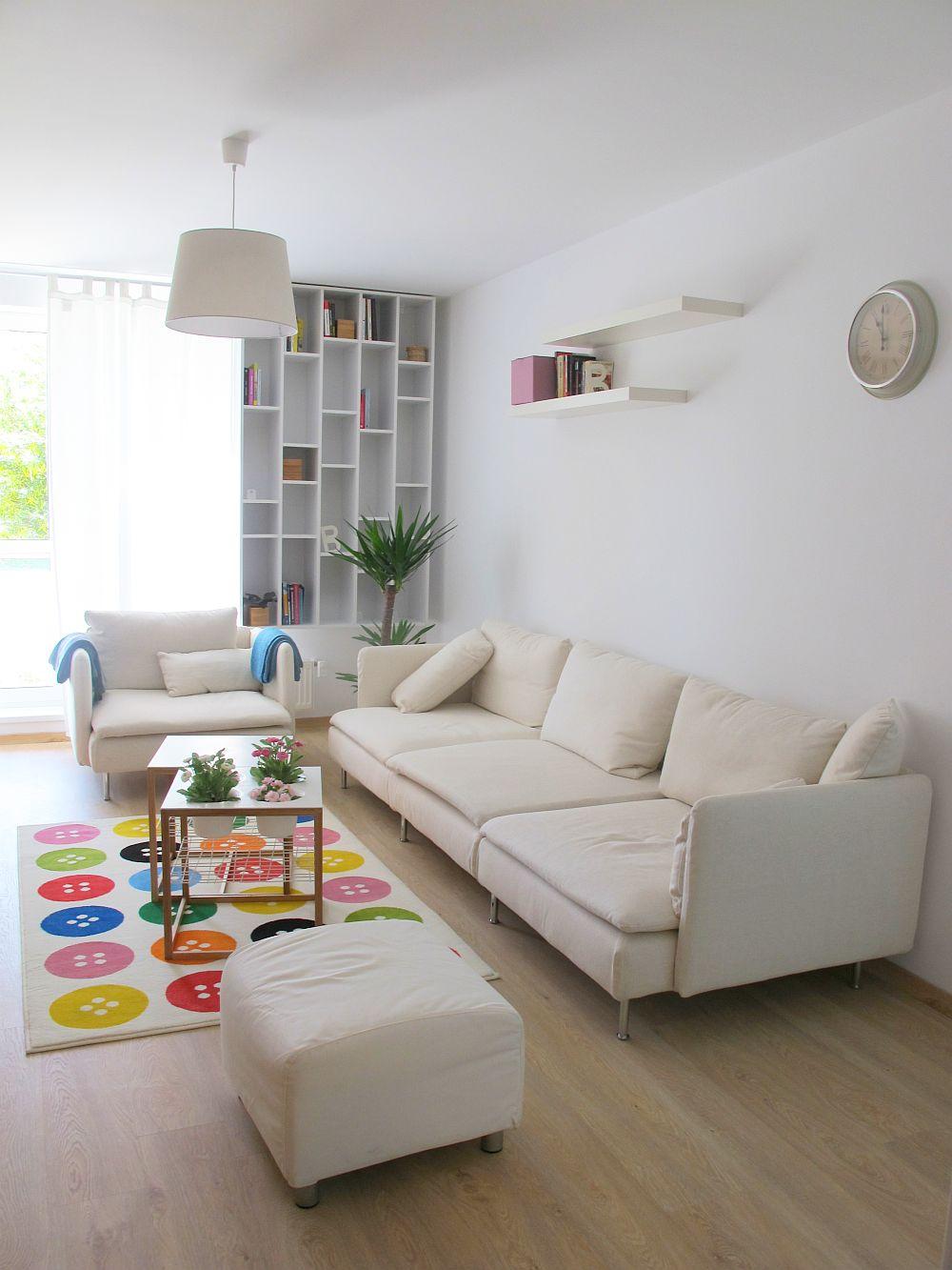 adelaparvu.com despre apartament de doua camere 51 mp, blocul The Park Bucuresti (15)
