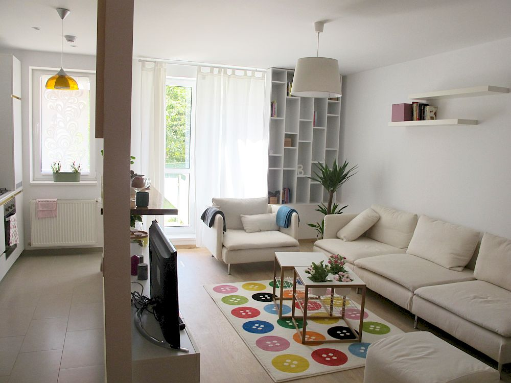 adelaparvu.com despre apartament de doua camere 51 mp, blocul The Park Bucuresti (20)