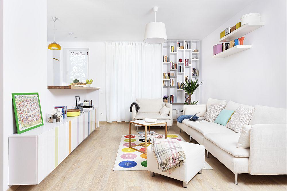adelaparvu.com despre apartament de doua camere 51 mp, blocul The Park Bucuresti (7)