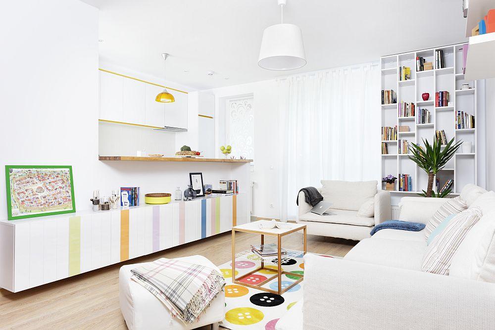 adelaparvu.com despre apartament de doua camere 51 mp, blocul The Park Bucuresti (8)