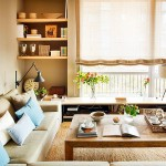 adelaparvu.com despre apartament de doua camere cu multe locuri de depozitare, design Pepe Llaudet, Foto ElMueble (1)