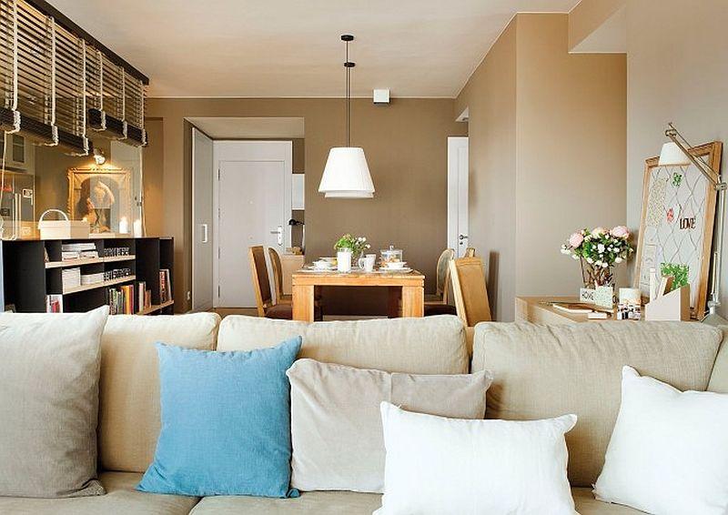 adelaparvu.com despre apartament de doua camere cu multe locuri de depozitare, design Pepe Llaudet, Foto ElMueble (11)