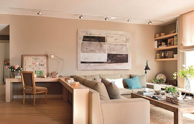 adelaparvu.com despre apartament de doua camere cu multe locuri de depozitare, design Pepe Llaudet, Foto ElMueble (12)