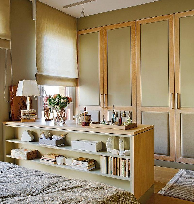 adelaparvu.com despre apartament de doua camere cu multe locuri de depozitare, design Pepe Llaudet, Foto ElMueble (13)
