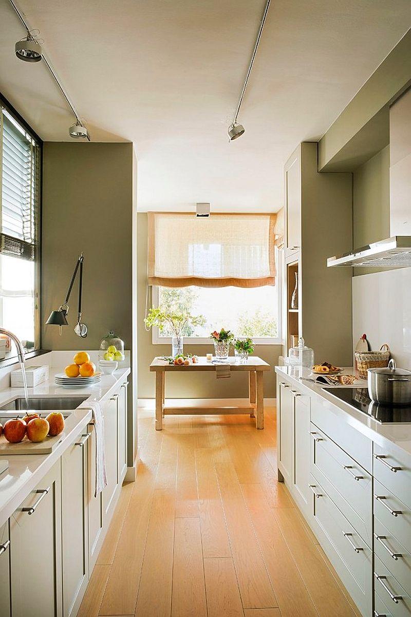 adelaparvu.com despre apartament de doua camere cu multe locuri de depozitare, design Pepe Llaudet, Foto ElMueble (2)