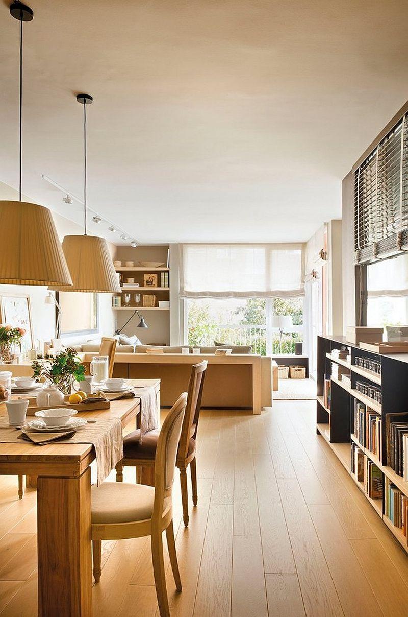 adelaparvu.com despre apartament de doua camere cu multe locuri de depozitare, design Pepe Llaudet, Foto ElMueble (4)