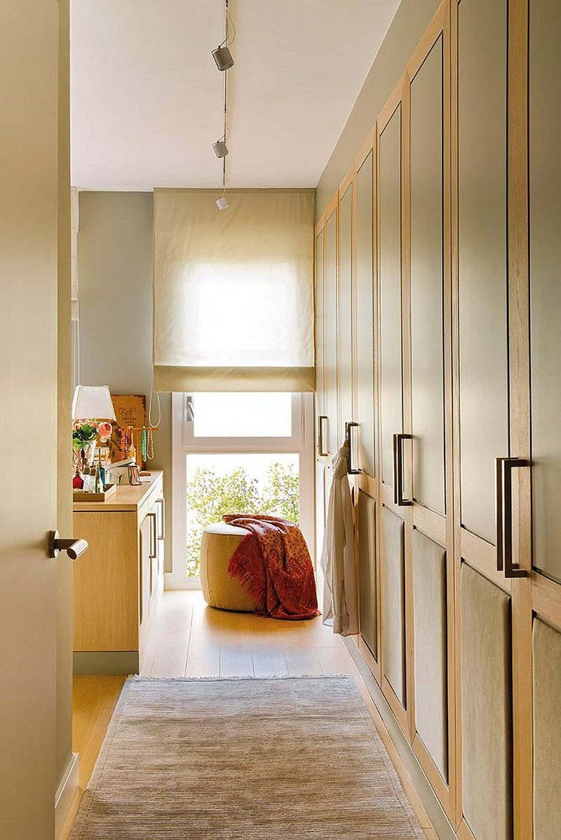 adelaparvu.com despre apartament de doua camere cu multe locuri de depozitare, design Pepe Llaudet, Foto ElMueble (7)