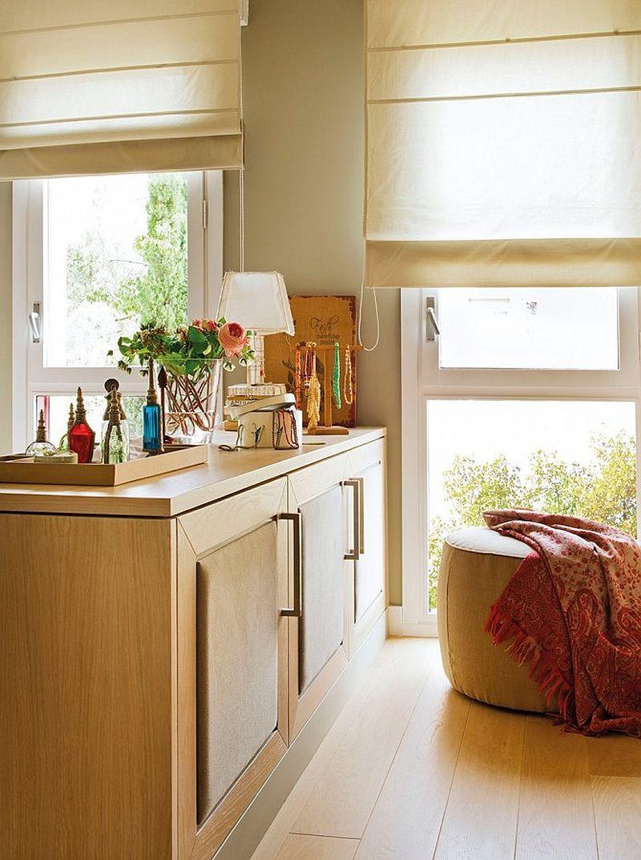 adelaparvu.com despre apartament de doua camere cu multe locuri de depozitare, design Pepe Llaudet, Foto ElMueble (8)
