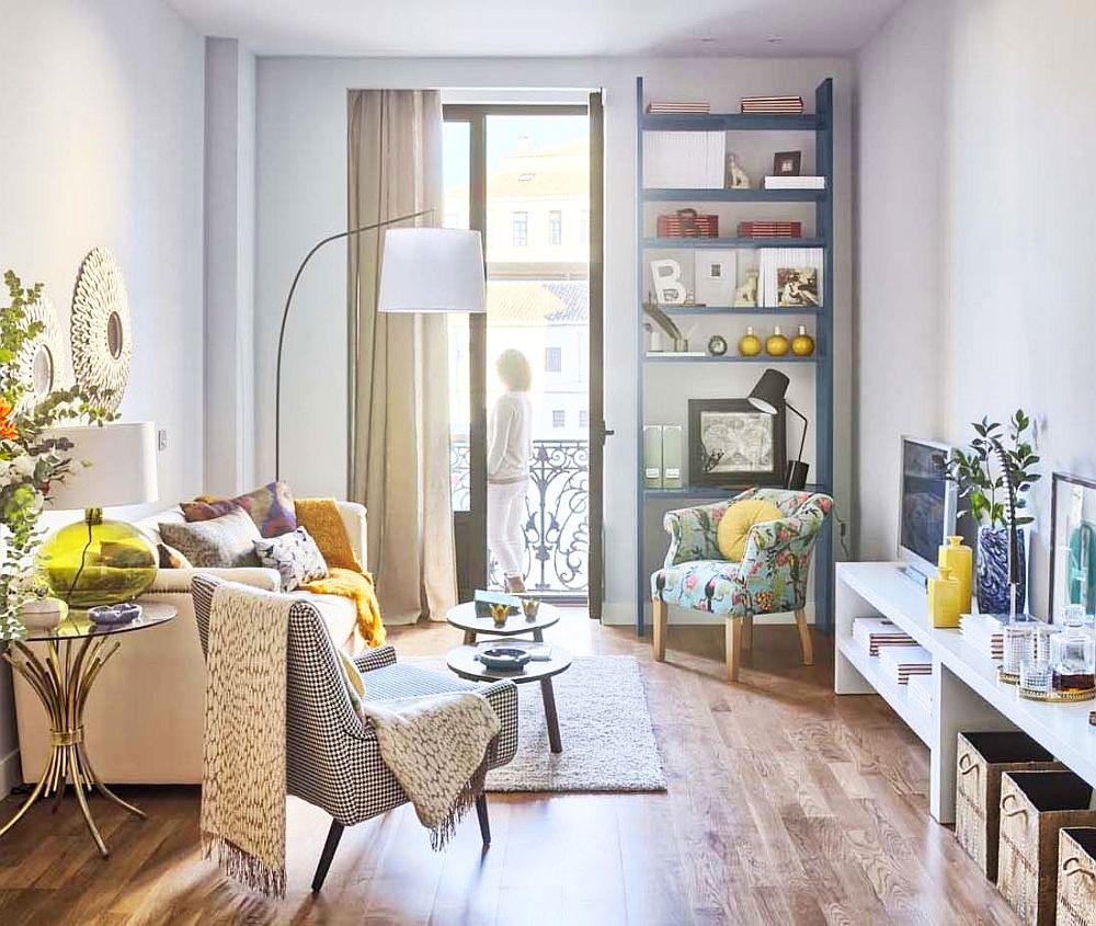 adelaparvu.com despre apartament de doua camere, locuinta 66 mp, designer Pili Molina, Mas Fotogenica (1)