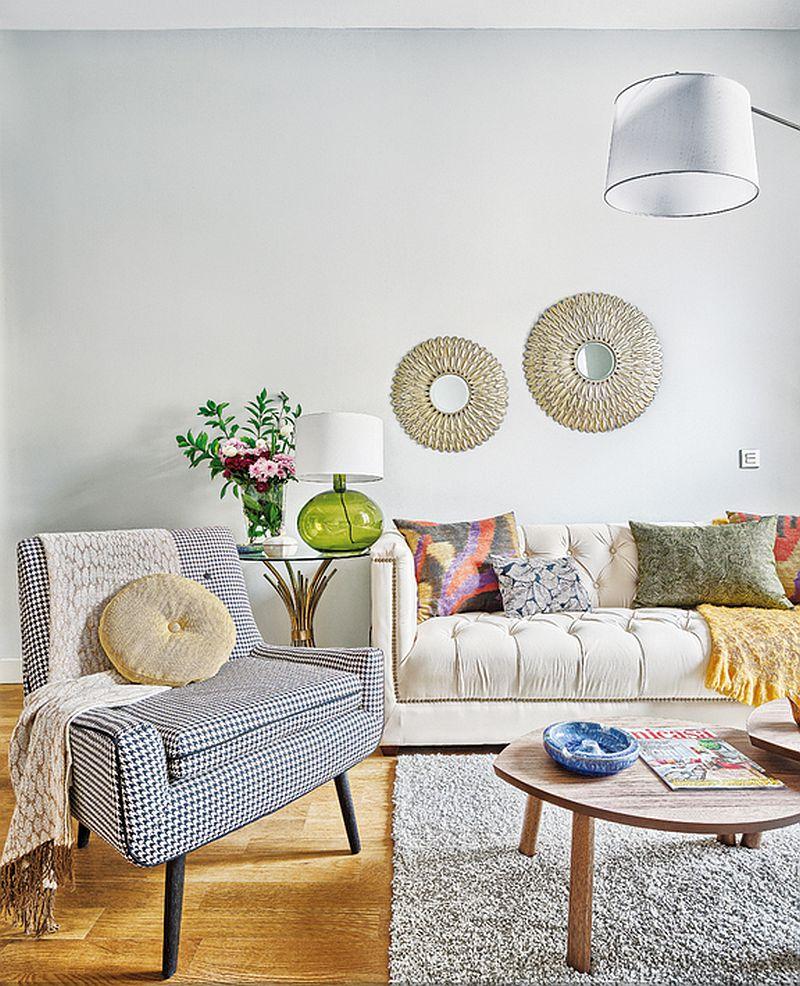 adelaparvu.com despre apartament de doua camere, locuinta 66 mp, designer Pili Molina, Mas Fotogenica (2)