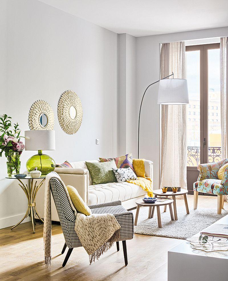 adelaparvu.com despre apartament de doua camere, locuinta 66 mp, designer Pili Molina, Mas Fotogenica (5)