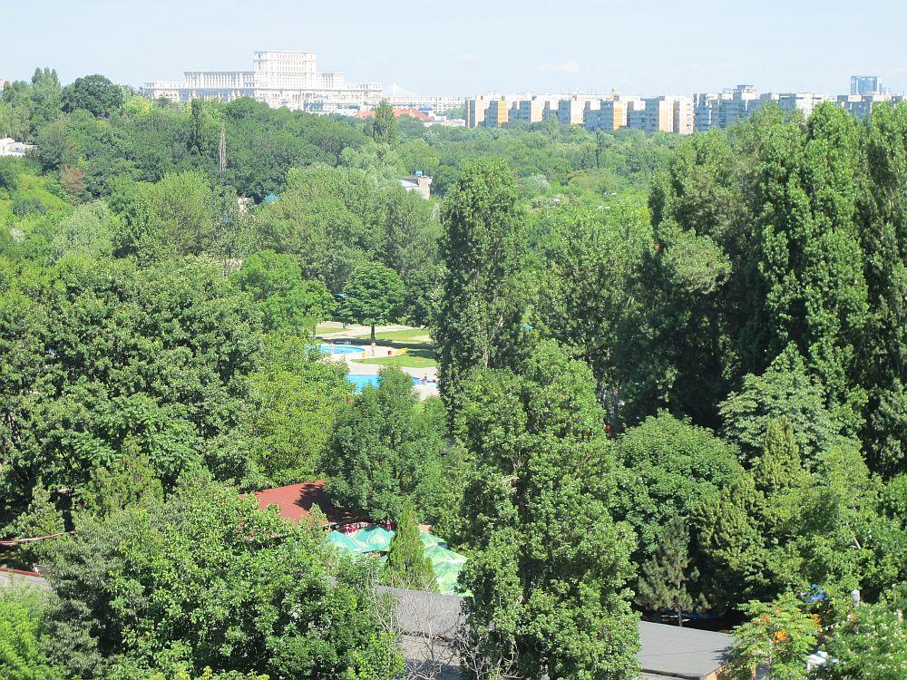 Vedere de la etajul 6 de la The Park