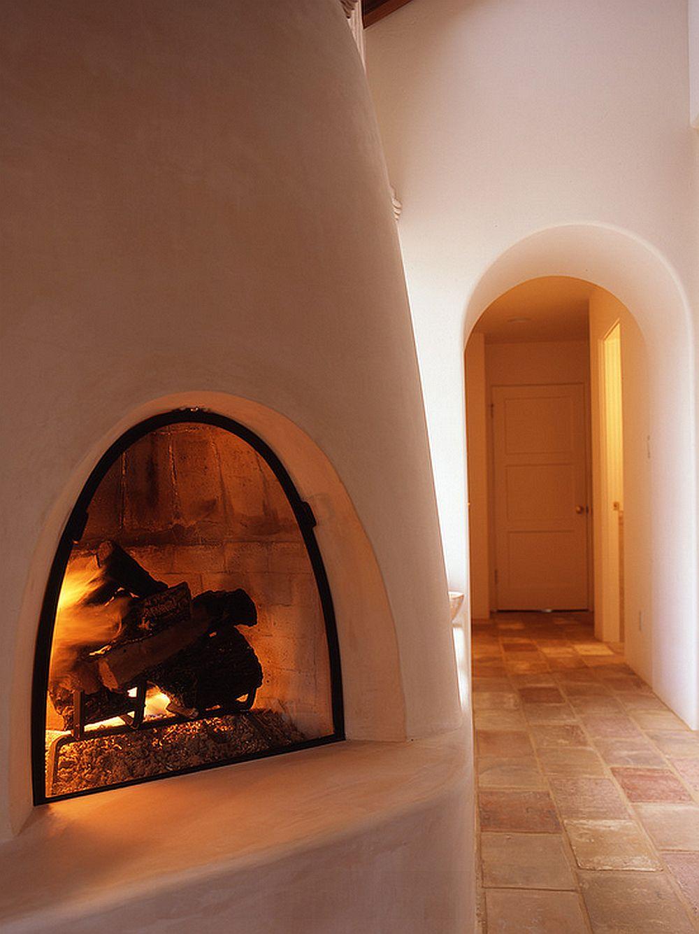 adelaparvu.com despre atelier de artist, Menlo Park, California, soba din lut, design Zak Johnson, Foto Michael Winokur (7)