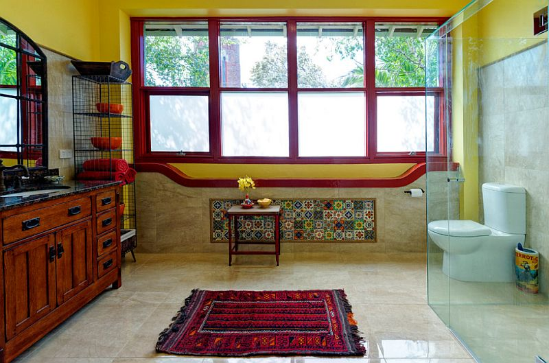 adelaparvu.com despre bai cu placi ceramice pictate, bai in stil mediteranean, Foto Better Bathrooms & Kitchens