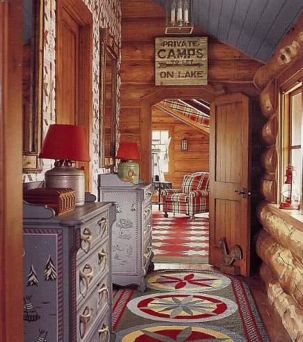 adelaparvu.com despre cabana din barne de lemn cu interioare rustic colorate, designer Antony Barata (3)