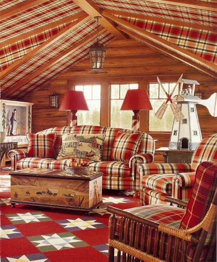 adelaparvu.com despre cabana din barne de lemn cu interioare rustic colorate, designer Antony Barata (4)