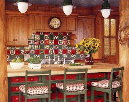 adelaparvu.com despre cabana din barne de lemn cu interioare rustic colorate, designer Antony Barata (5)