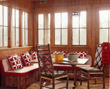 adelaparvu.com despre cabana din barne de lemn cu interioare rustic colorate, designer Antony Barata (6)