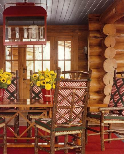adelaparvu.com despre cabana din barne de lemn cu interioare rustic colorate, designer Antony Barata (7)