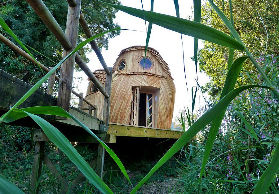 adelaparvu.com despre cabana in forma de bufnita, design Zebra3, Foto Bruitdufrigo Refuges Guetteurs (10)