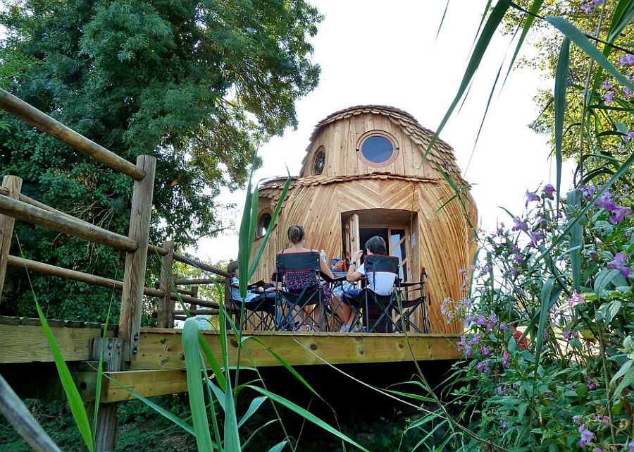 adelaparvu.com despre cabana in forma de bufnita, design Zebra3, Foto Bruitdufrigo Refuges Guetteurs (17)