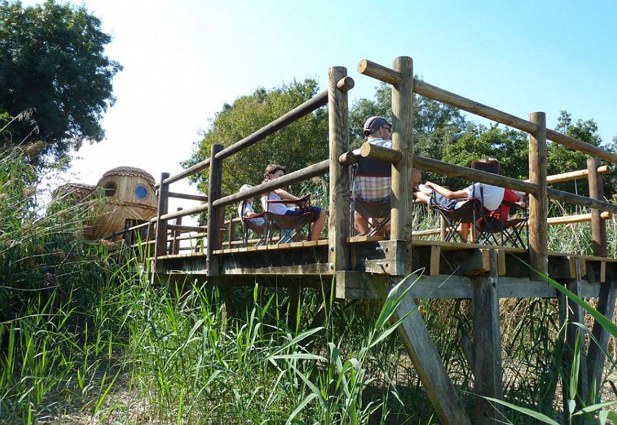 adelaparvu.com despre cabana in forma de bufnita, design Zebra3, Foto Bruitdufrigo Refuges Guetteurs (19)