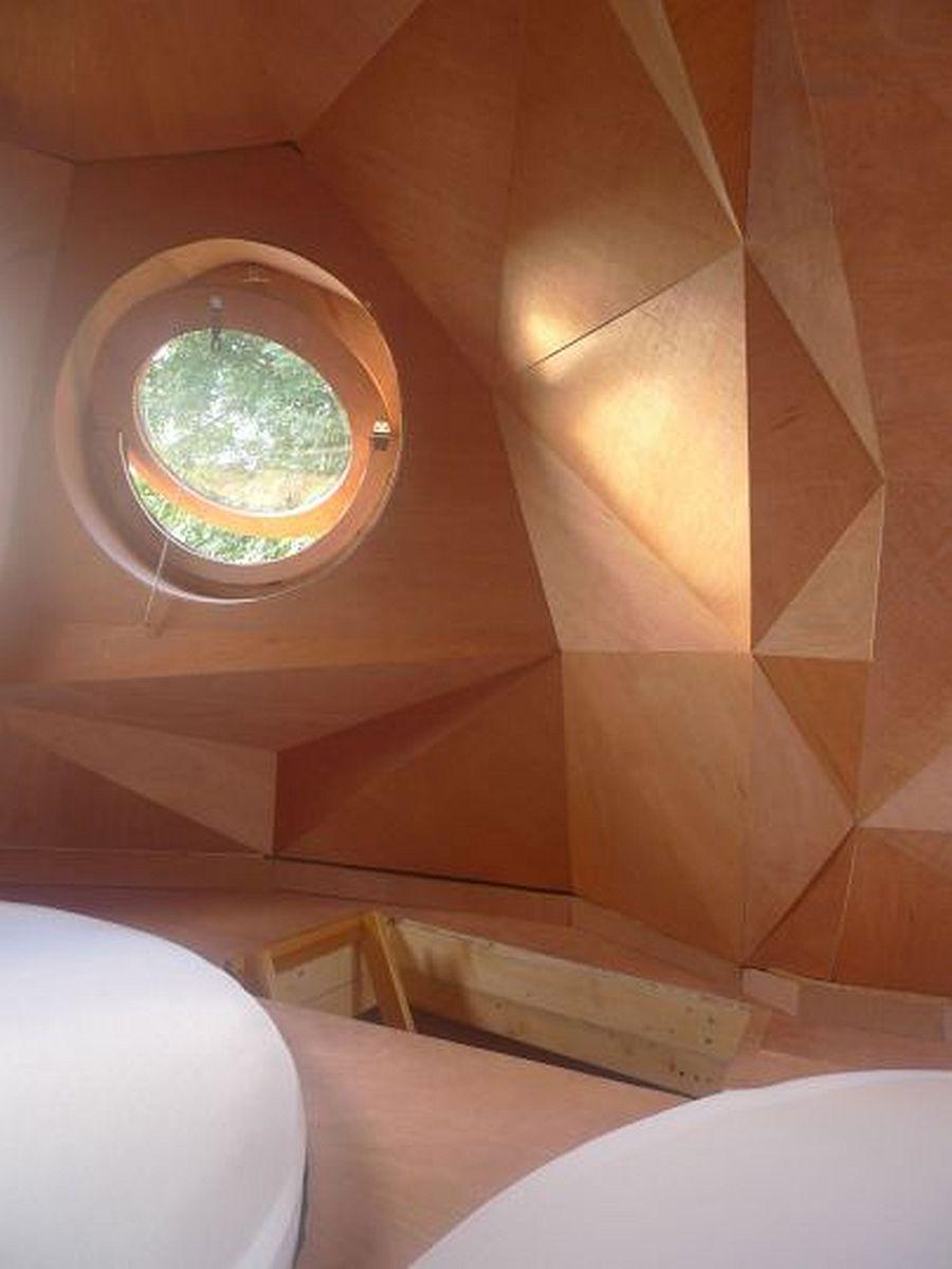 adelaparvu.com despre cabana in forma de bufnita, design Zebra3, Foto Bruitdufrigo Refuges Guetteurs (2)