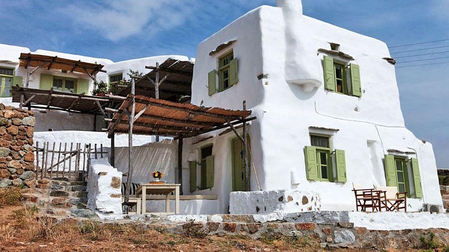 adelaparvu.com despre casa cu arhitectura cicladica, Mykonos, Villa Dimitrios din Panormos (10)