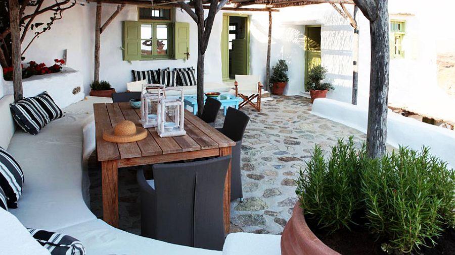 adelaparvu.com despre casa cu arhitectura cicladica, Mykonos, Villa Dimitrios din Panormos (15)