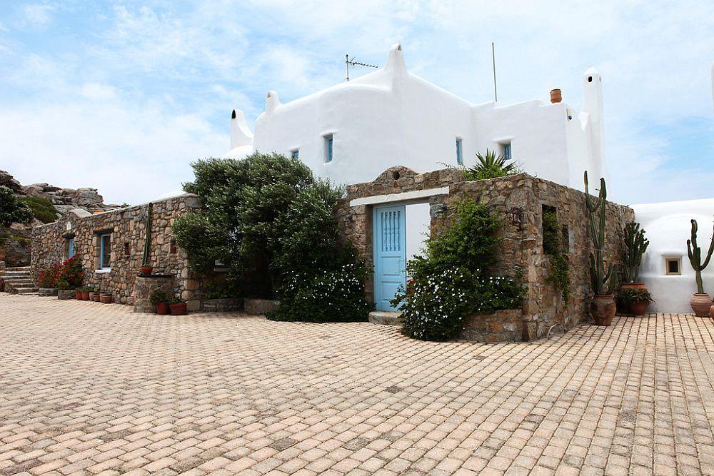 adelaparvu.com despre casa cu arhitectura cicladica, casa rustica Grecia, Villa Naira Mykonos (1)