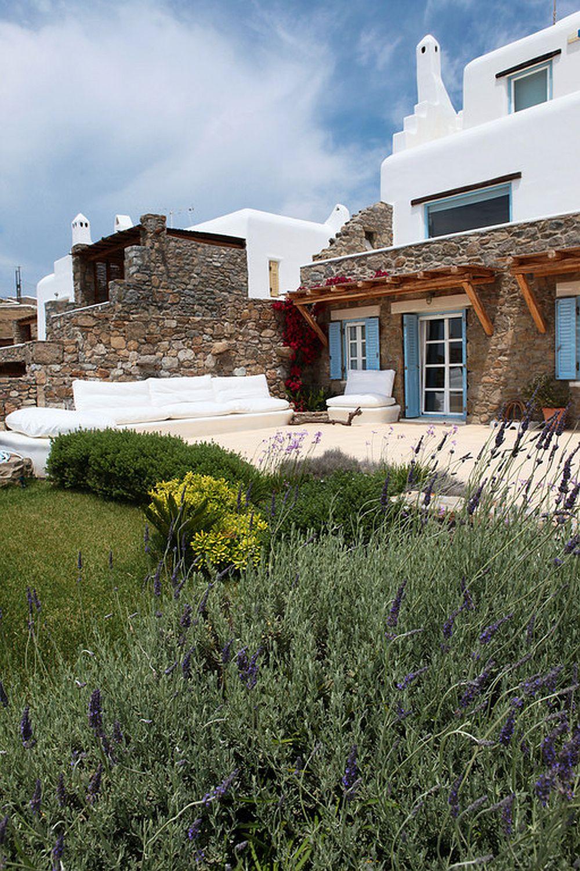 adelaparvu.com despre casa cu arhitectura cicladica, casa rustica Grecia, Villa Naira Mykonos (10)
