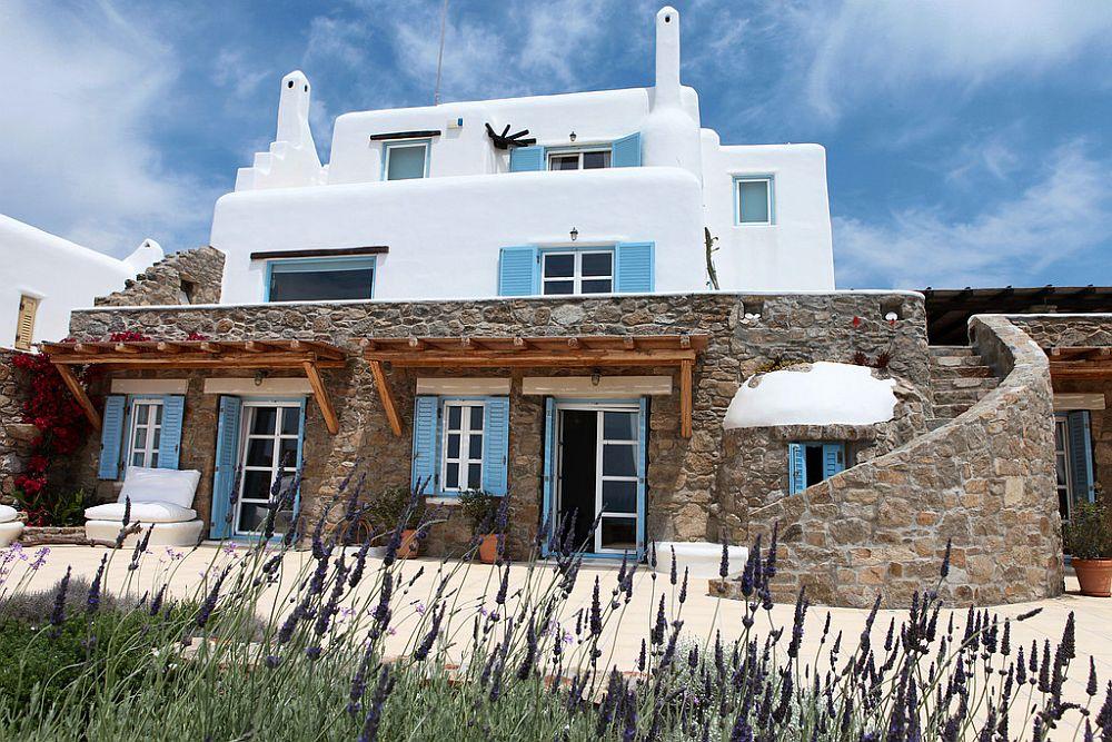 adelaparvu.com despre casa cu arhitectura cicladica, casa rustica Grecia, Villa Naira Mykonos (11)