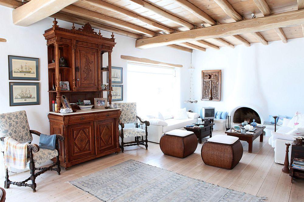 adelaparvu.com despre casa cu arhitectura cicladica, casa rustica Grecia, Villa Naira Mykonos (13)