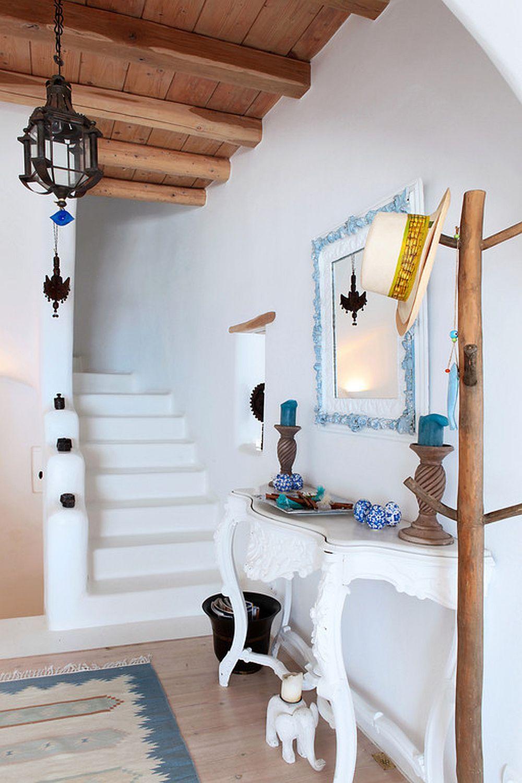 adelaparvu.com despre casa cu arhitectura cicladica, casa rustica Grecia, Villa Naira Mykonos (18)