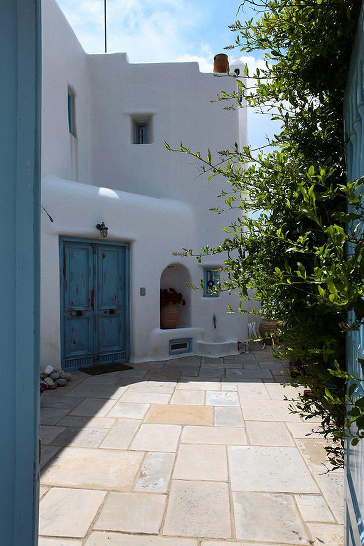 adelaparvu.com despre casa cu arhitectura cicladica, casa rustica Grecia, Villa Naira Mykonos (2)