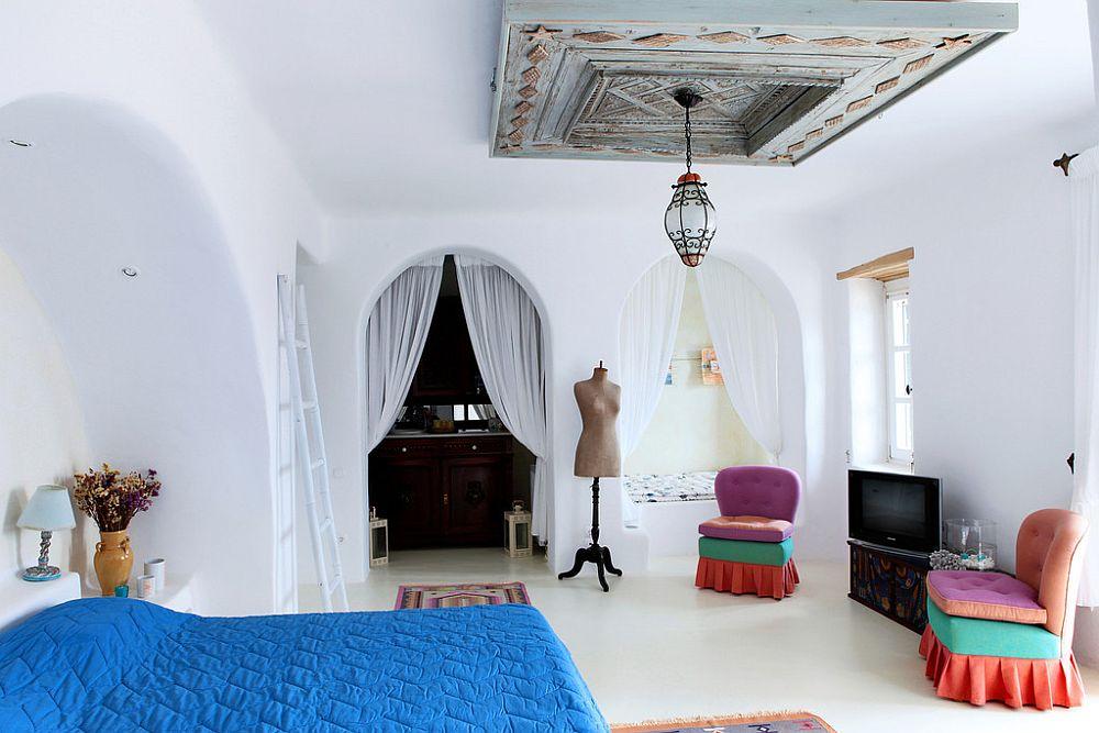 adelaparvu.com despre casa cu arhitectura cicladica, casa rustica Grecia, Villa Naira Mykonos (25)