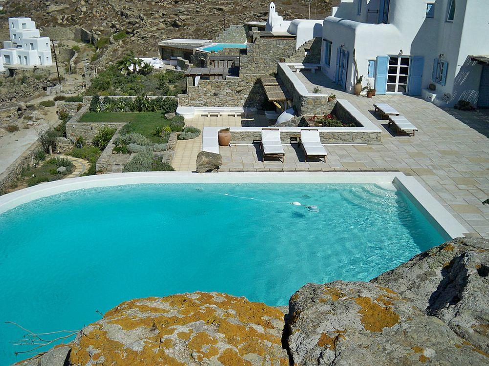adelaparvu.com despre casa cu arhitectura cicladica, casa rustica Grecia, Villa Naira Mykonos (3)
