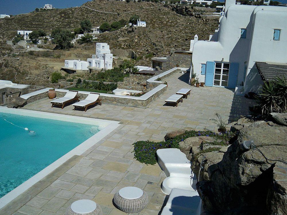 adelaparvu.com despre casa cu arhitectura cicladica, casa rustica Grecia, Villa Naira Mykonos (4)