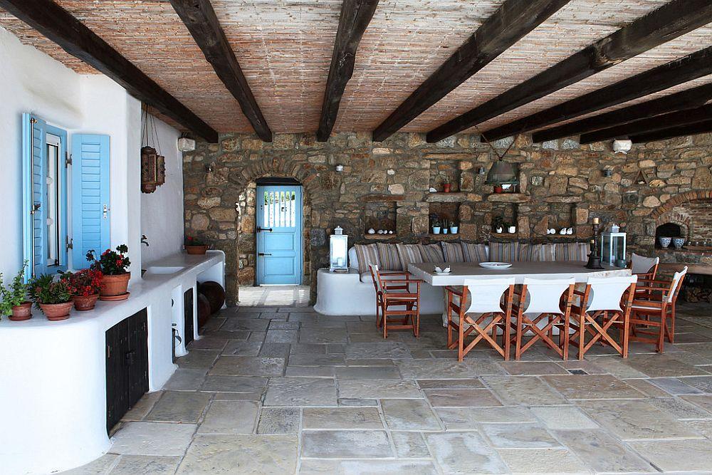 adelaparvu.com despre casa cu arhitectura cicladica, casa rustica Grecia, Villa Naira Mykonos (7)