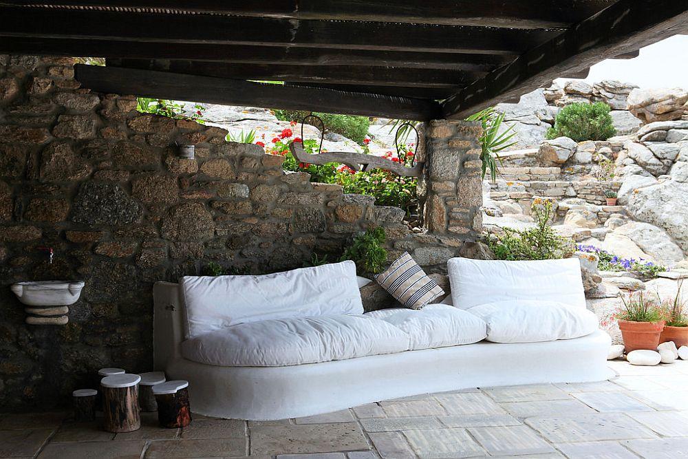 adelaparvu.com despre casa cu arhitectura cicladica, casa rustica Grecia, Villa Naira Mykonos (9)