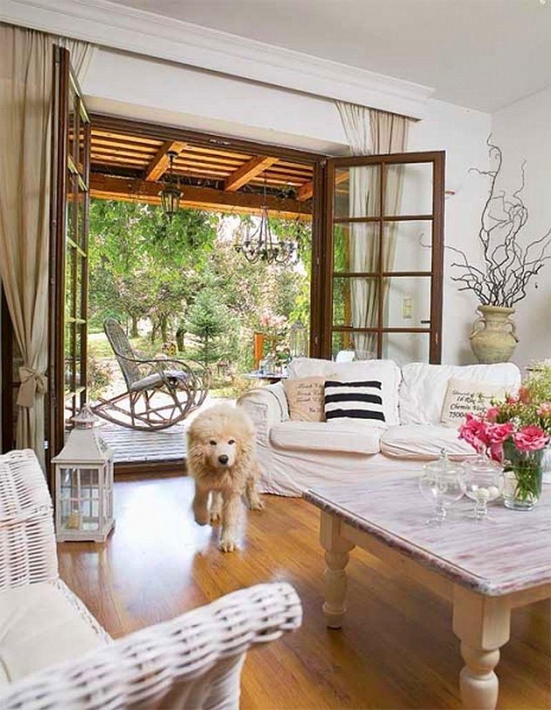adelaparvu.com despre casa cu decor romantic, casa Polonia, designer Catherine Mazurkiewicz, Foto Weranda Country (10)