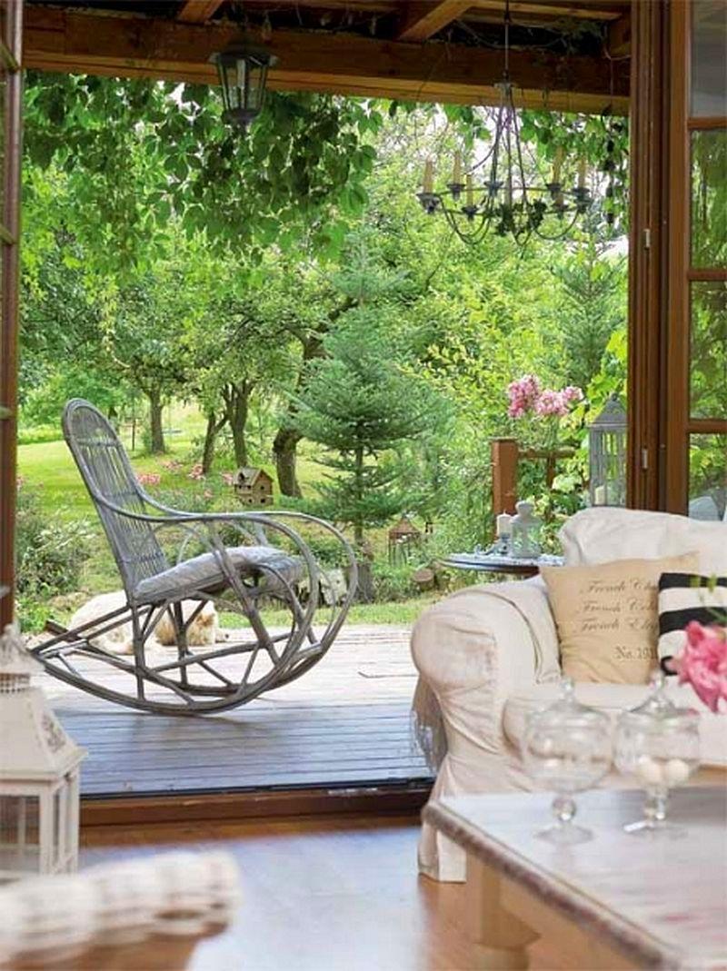 adelaparvu.com despre casa cu decor romantic, casa Polonia, designer Catherine Mazurkiewicz, Foto Weranda Country (11)