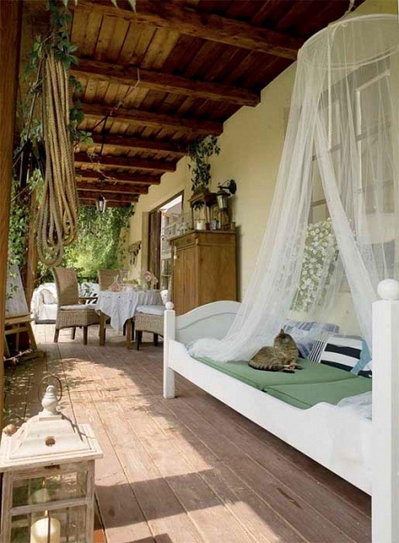 adelaparvu.com despre casa cu decor romantic, casa Polonia, designer Catherine Mazurkiewicz, Foto Weranda Country (12)