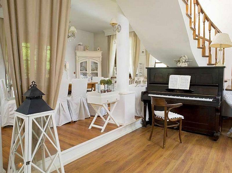 adelaparvu.com despre casa cu decor romantic, casa Polonia, designer Catherine Mazurkiewicz, Foto Weranda Country (13)